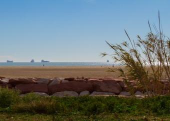 La playa de Pinedo